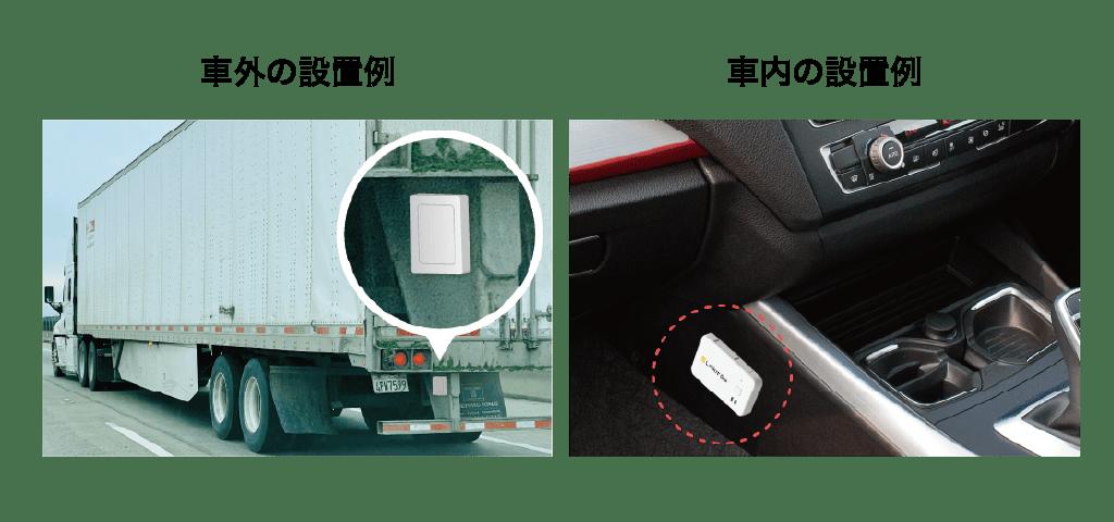 ビーコン機能付きGPSトラッカーの接続方法